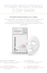2-Step Power Brightening D-Day Mask (1 Sheet)