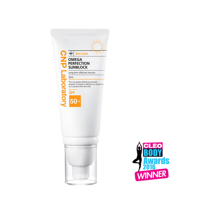 Omega Perfection Sunblock 50ml *Expires in March 2021*