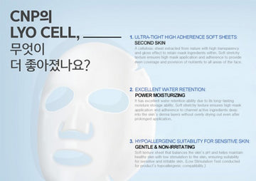 Dr-Jet Mask: Hydro Radiance (1 Sheet)