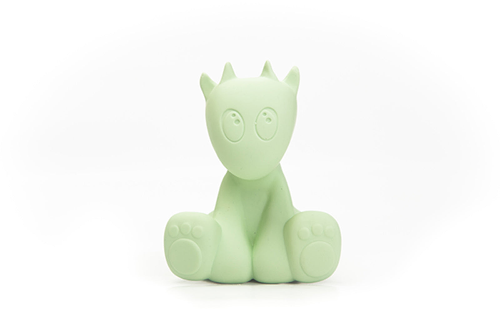 Mint Green Lolo the Dragon Teething and Bath Toy