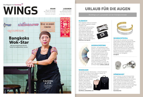 WINGS - Das Eurowings Magazin Ausgabe Juli/August 2018