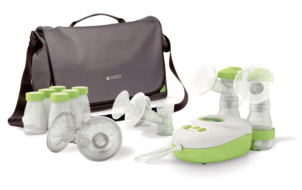 Complete breastpump kit