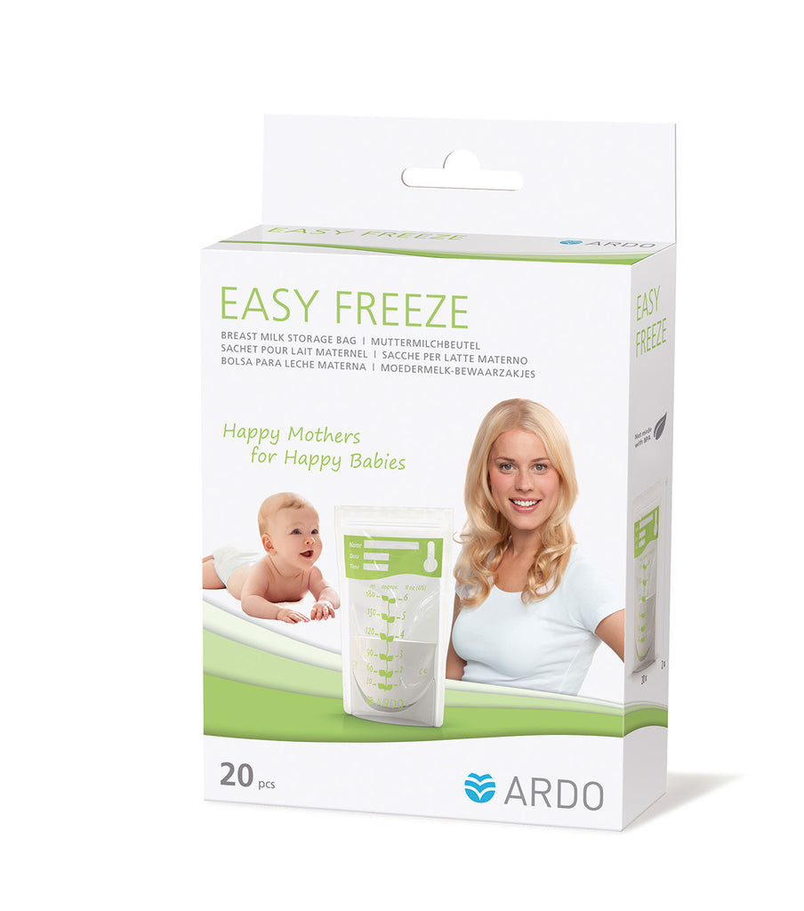 easy freeze breastfeeding bags