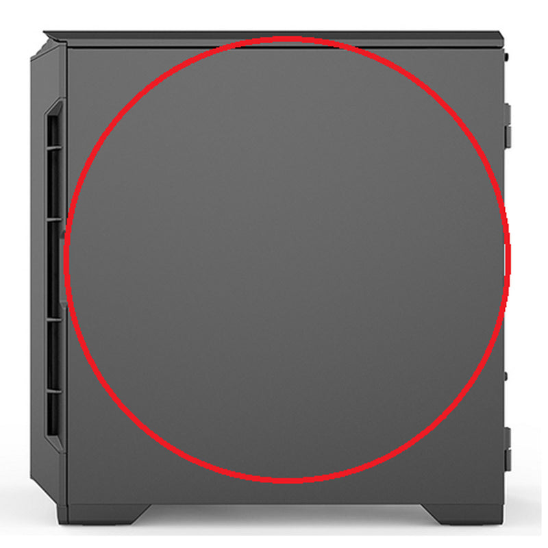 Eclipse P600S - Right Side Panel (closed)