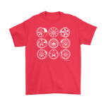 DOWNSHIFT Ultimate Wheel Collage Tee