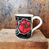 Mug, Regular, Floral Poppy