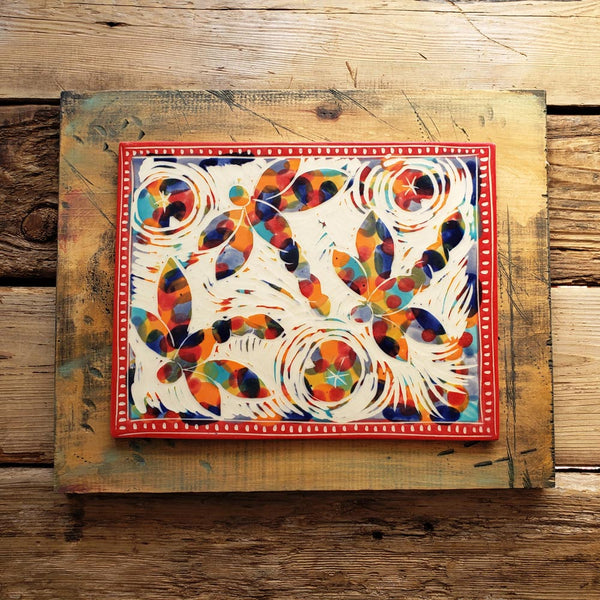 Decorative Wall Tile, Fiesta