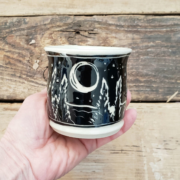 Mug, Shorty, Moonlight Trees