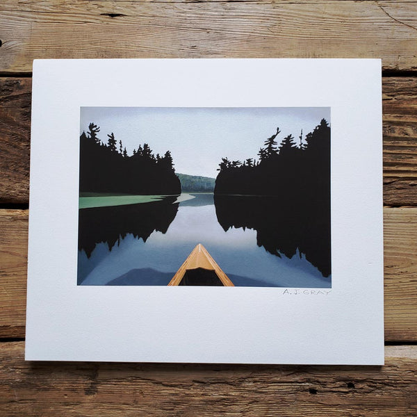 Print, On the Madawaska