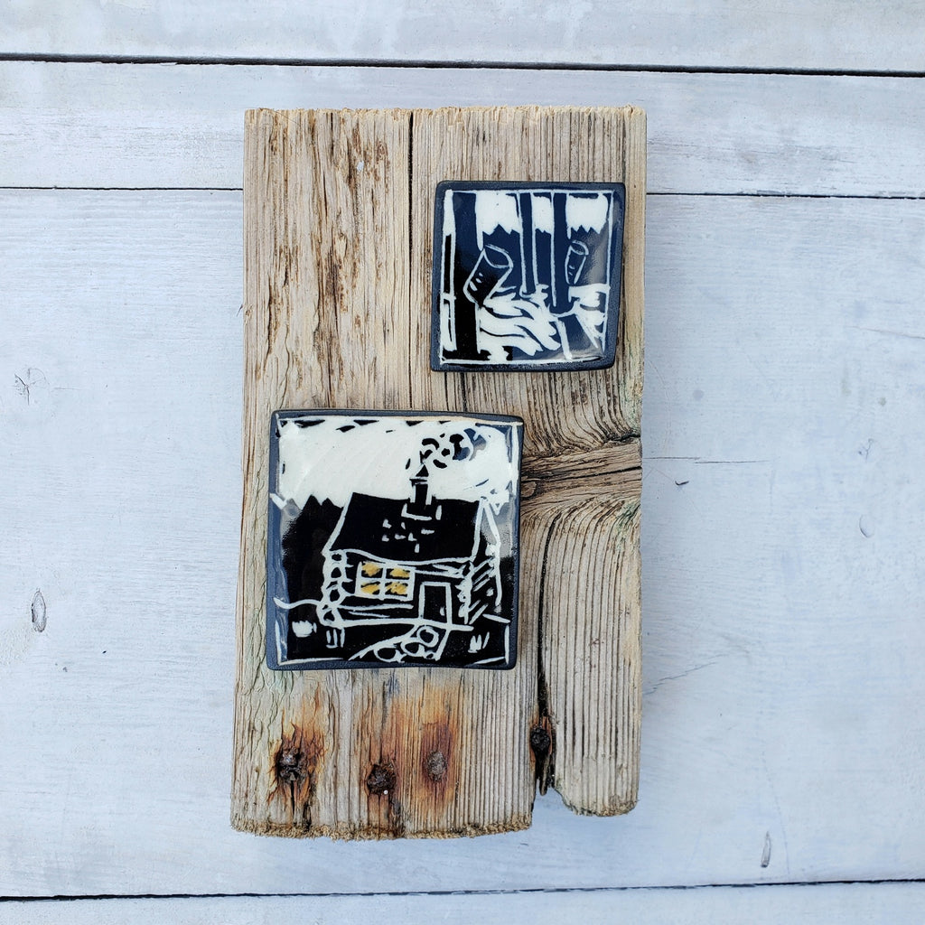 Cabin and Sugar Bush Wall Tiles