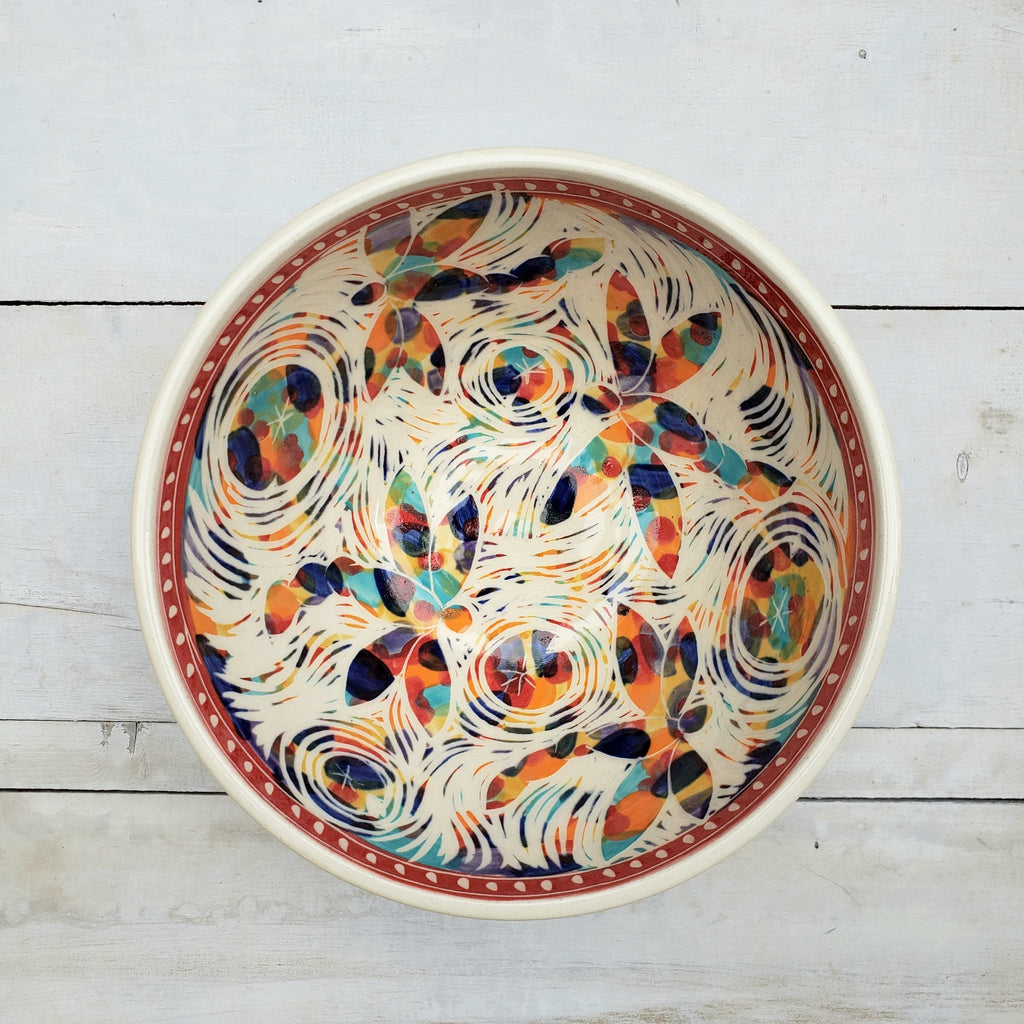 Large Serving Bowl, Fiesta