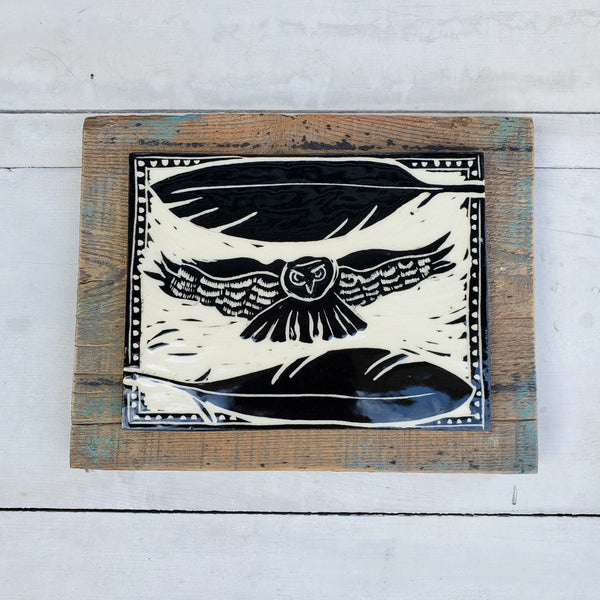 Owl Wall Tile