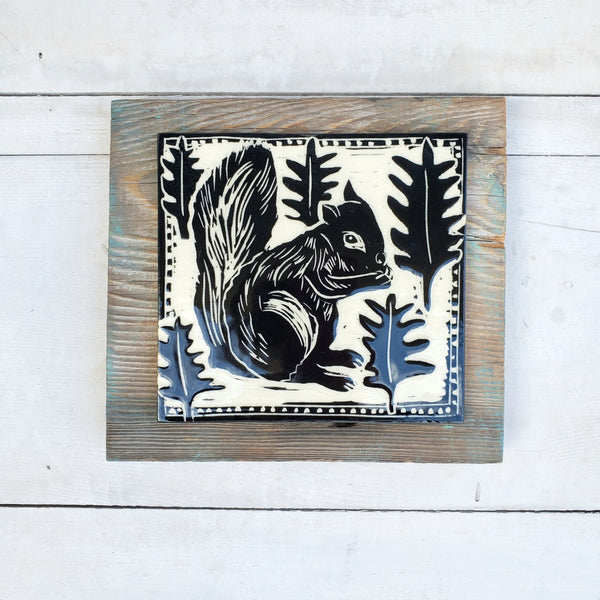 Squirrel Wall Tile