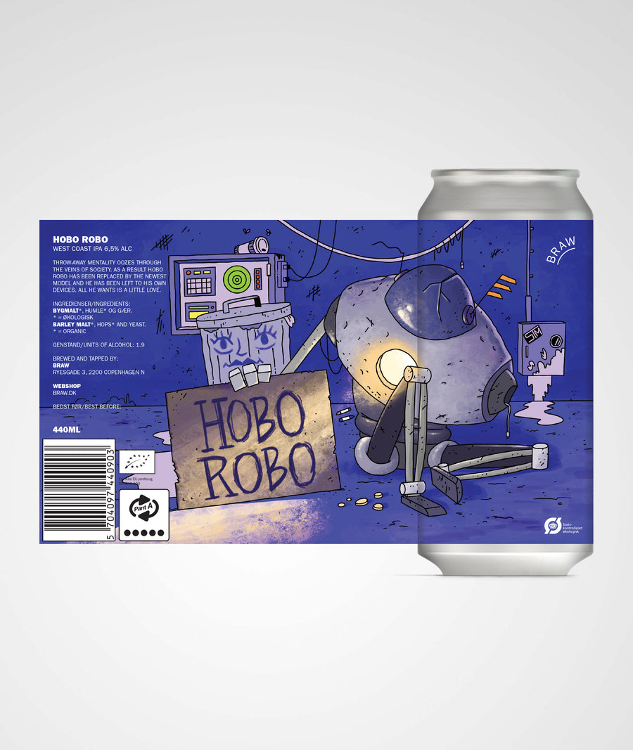 HOBO ROBO (WEST COAST IPA)