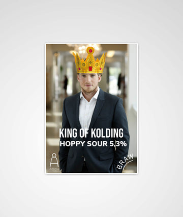 KING OF KOLDING - LIMITED EDITION POSTER