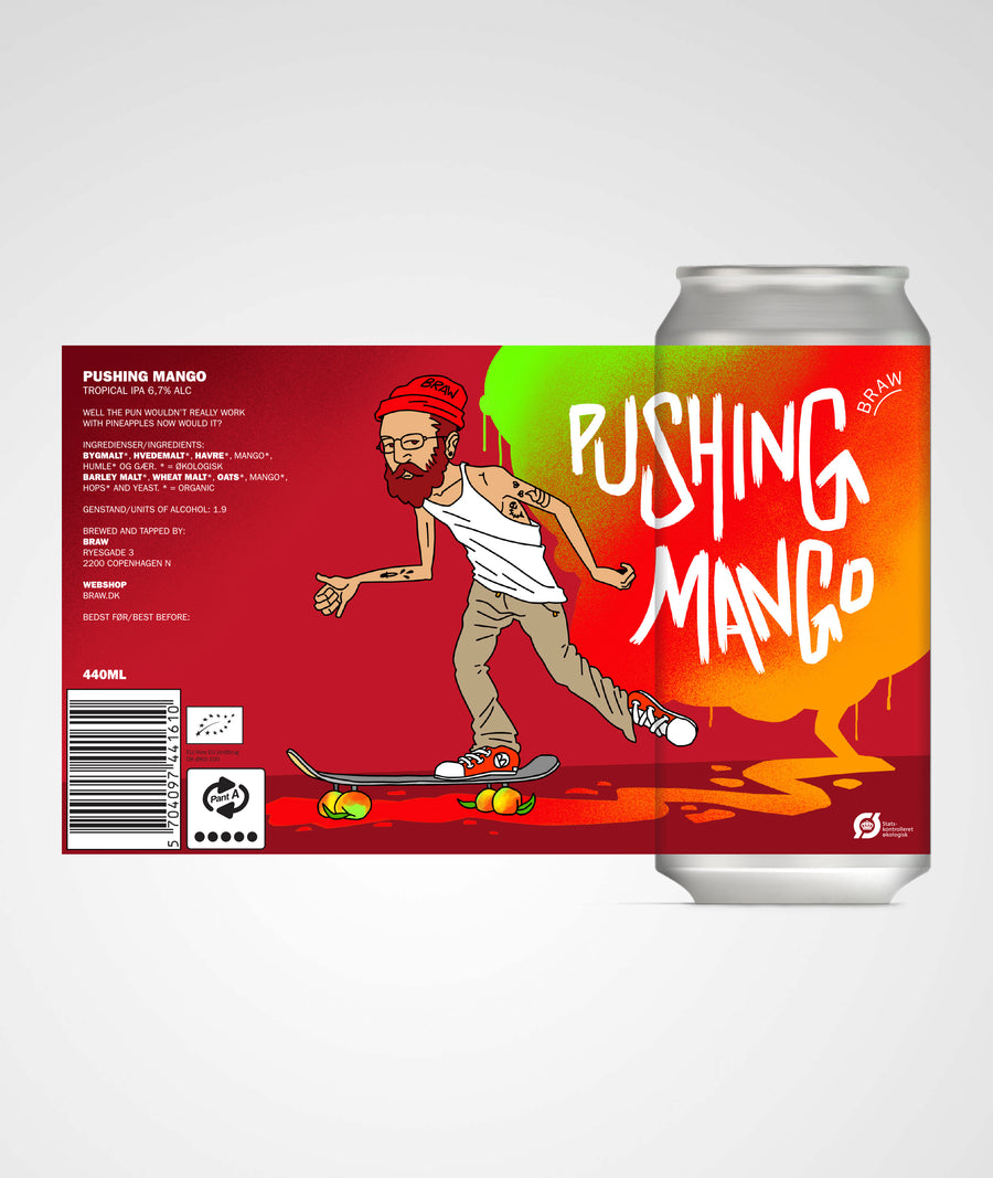 PUSHING MANGO (TROPICAL IPA)