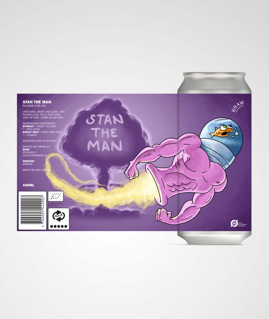 STAN THE MAN (GERMAN STYLE PILSNER)