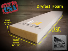 "Dryfast 25 Medium Firm Foam (24"" Wide)"
