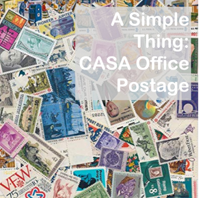 CASA Office Postage (MONTHLY RECURRING GIFT)
