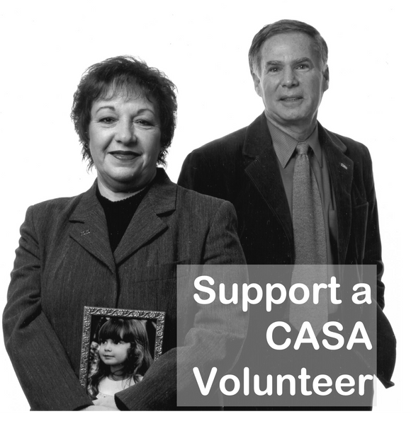 Support a CASA Volunteer (monthly recurring gift)