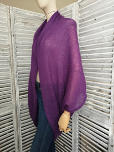 LL Cardigan | Versatile | Lightweight | in Purple