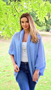 LL Cardigan | Versatile | Lightweight | in light blue
