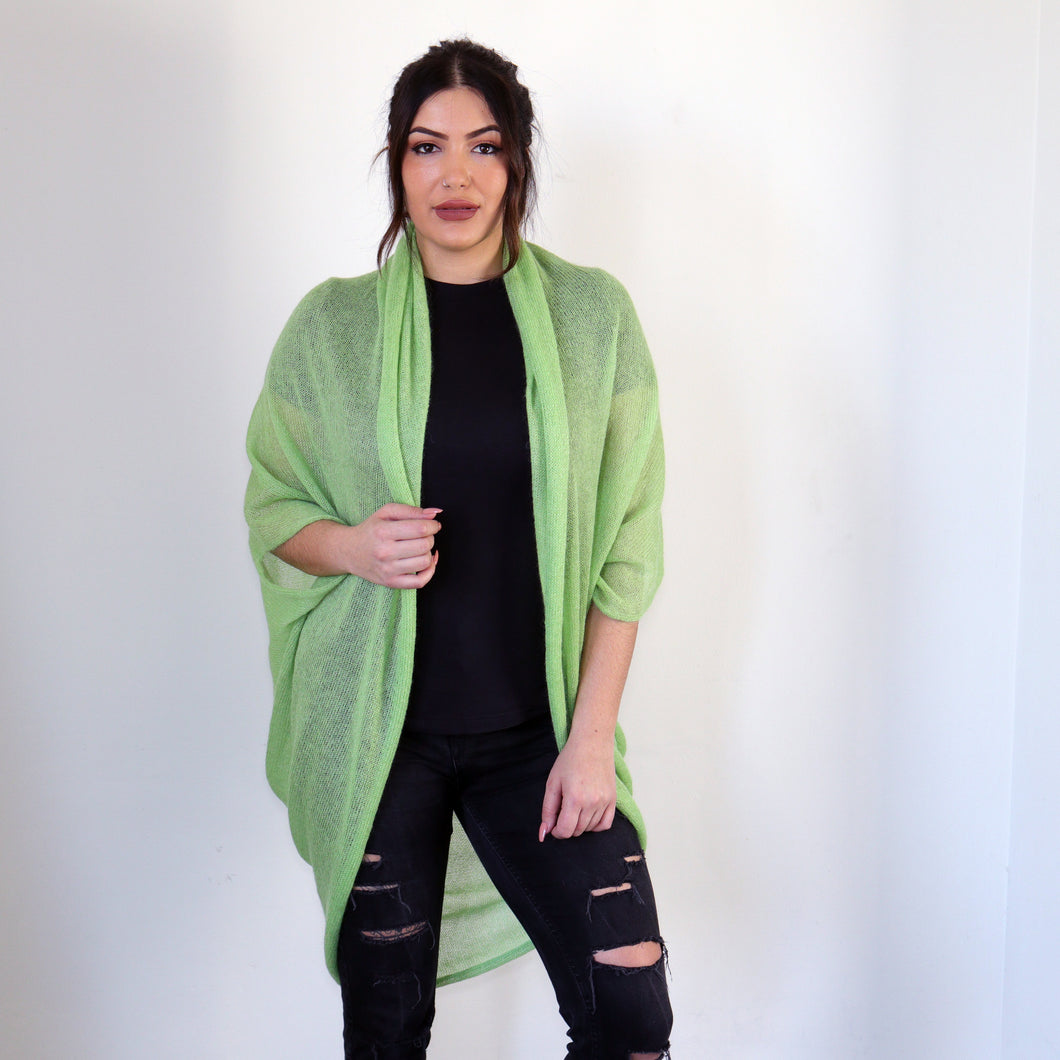 LL Cardigan | Versatile | Lightweight | in Bright green