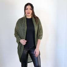 Load image into Gallery viewer, LL Cardigan | Versatile | Lightweight | in Green/Golden melange