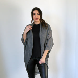 LL Cardigan | Versatile | Lightweight | in Grey