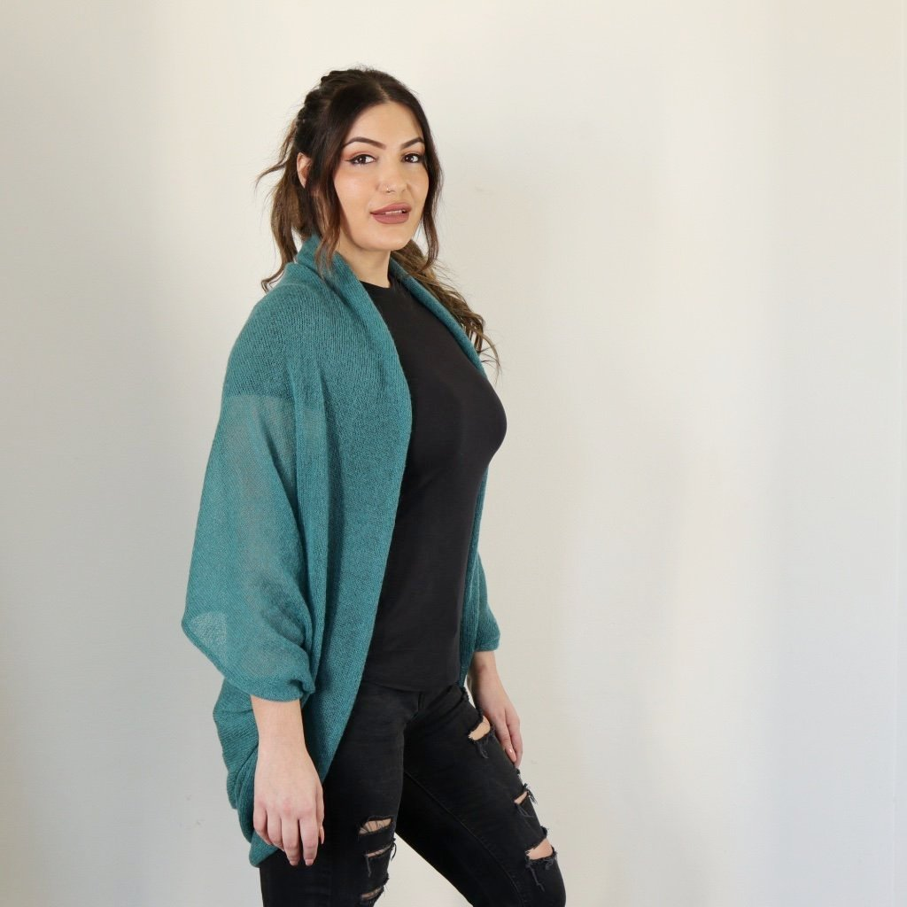 LL Cardigan | Versatile | Lightweight | in Teal colour