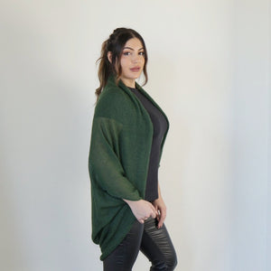 LL Cardigan | Versatile | Lightweight | in Emerald green