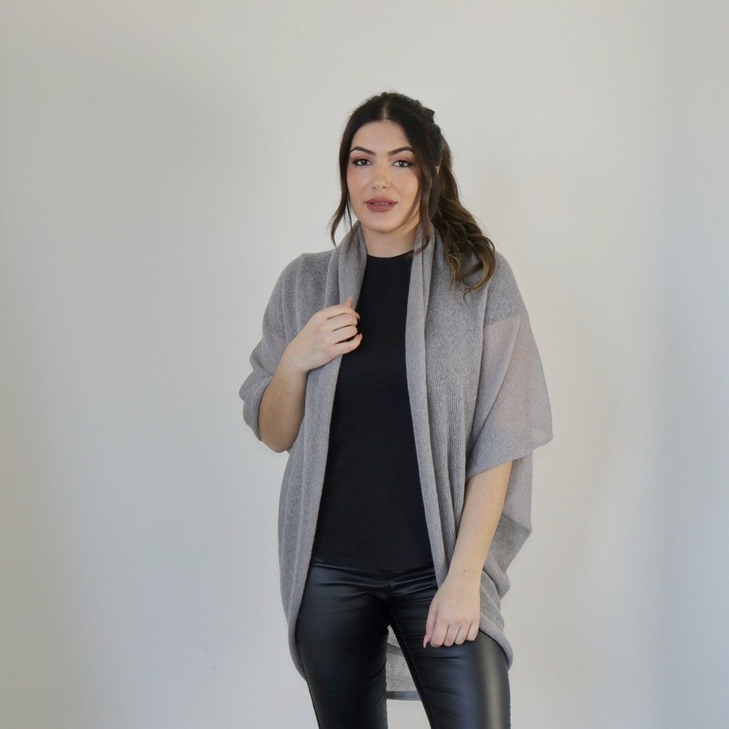 LL Cardigan | Versatile | Lightweight | in Light Grey