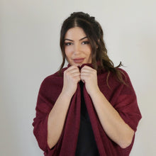 Load image into Gallery viewer, LL Cardigan | Versatile | Lightweight | in Burgundy