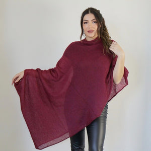 LL Cardigan | Versatile | Lightweight | in Burgundy