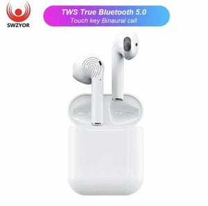 ff524d51510 1:1 Apple AirPod Clones Fake AirPods I12 TWS Bluetooth 5.0 – Melody ...