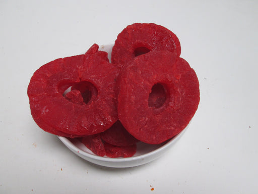 Dried Pineapple Rings-Strawberry Flavor, 44 lbs($2.80/lb)