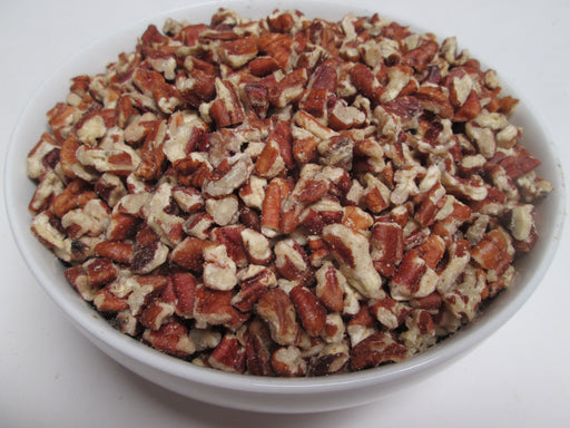 Organic Raw  Pecan Medium Pieces, 30 lbs / case