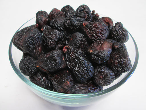 Organic Dried Black Mission Figs, 30 lbs / case