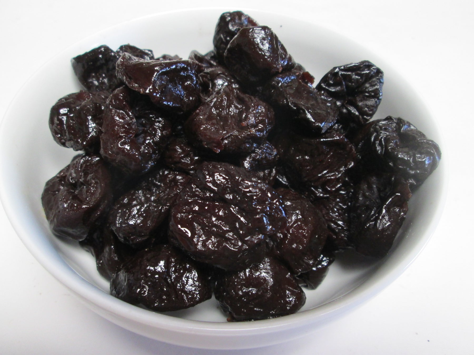 Dried Pitted Prunes , 25 lbs / case