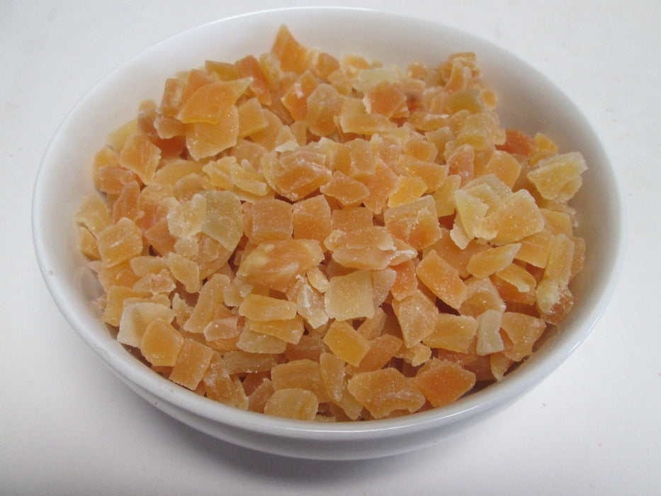 Dried Natural Mango Dices, 44 lbs / case