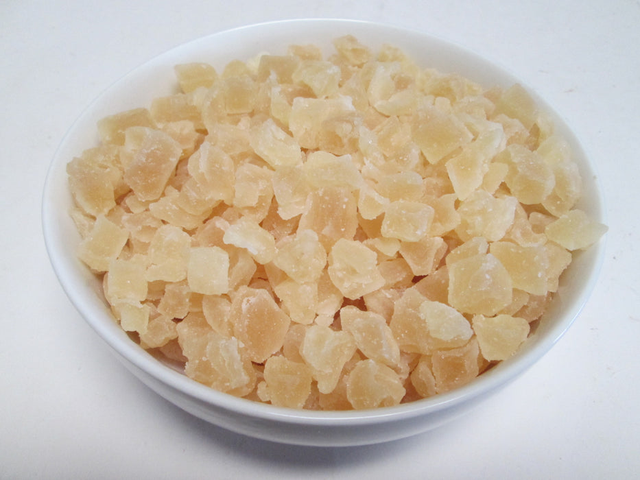 Natural Dried Pineapple Dices, 11 lbs