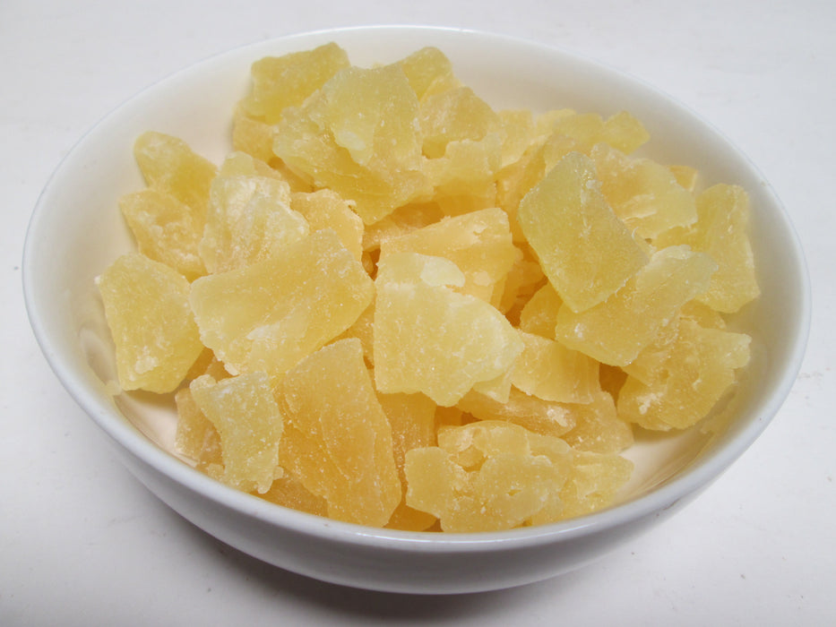 Natural Dried Pineapple Chunks, 11 lbs