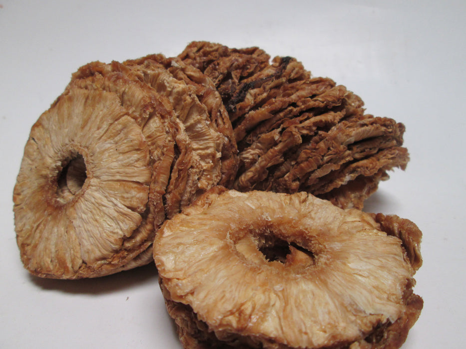 Organic Dried Pineapple Rings, 20 lbs / case