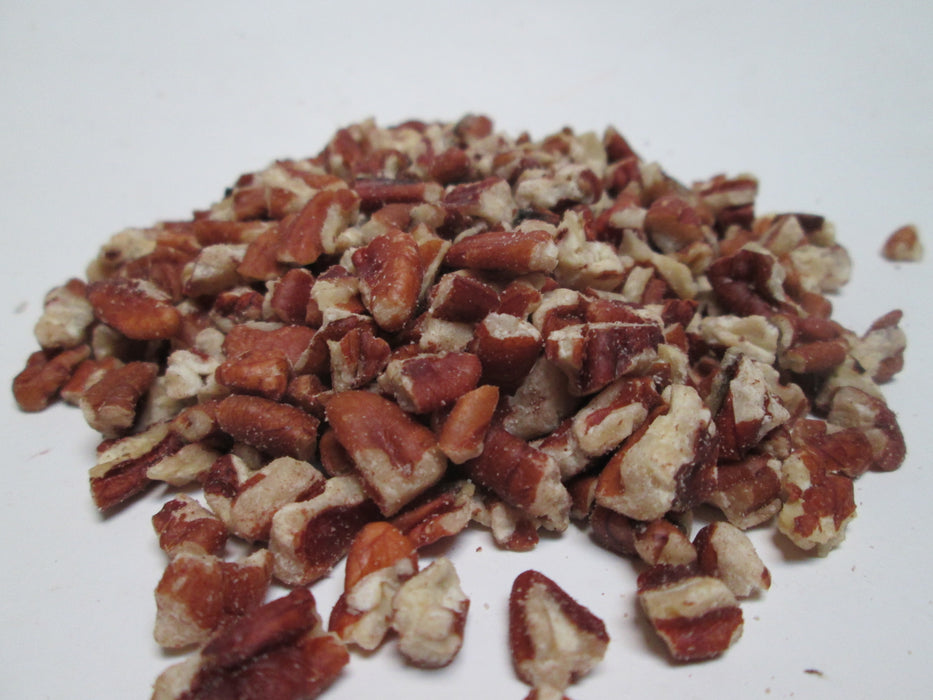 Raw Pecan Pieces, 30 lbs / case