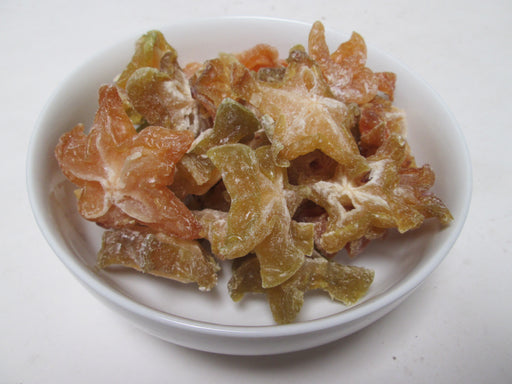 Dried Star Fruit Slices, 44 lbs / case