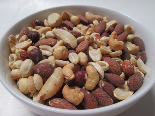 Deluxe Mixed Nuts- Roasted Only(No Peanuts), 25 lbs/bag