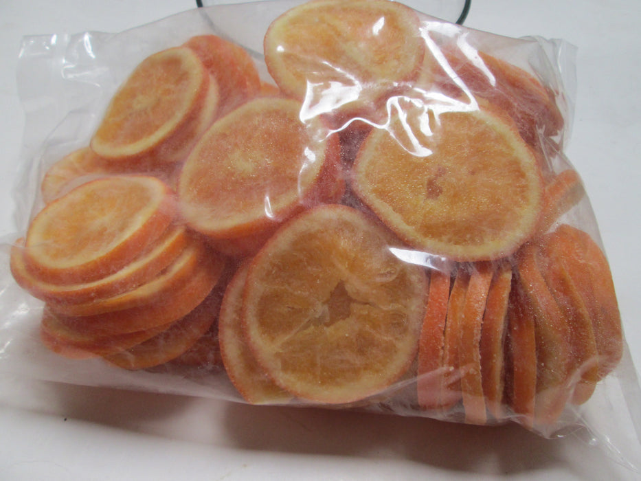 Glazed Orange Slices, 44 lbs/case