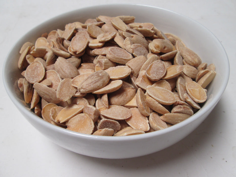 Roasted Blanched Almonds, 25 lbs / case