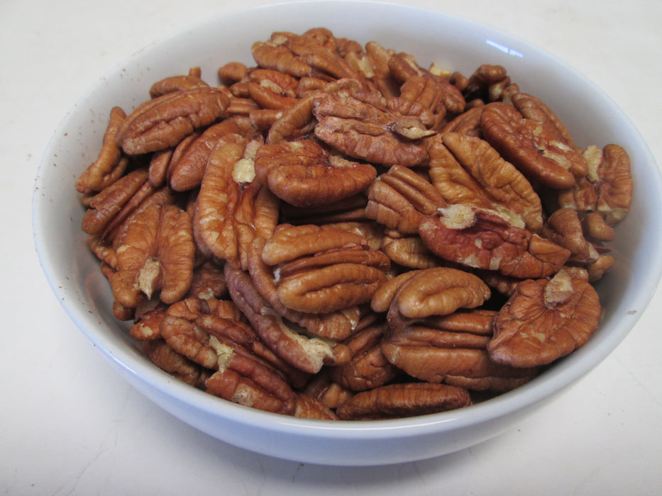 Raw Pecan Halves, 25 lbs / case