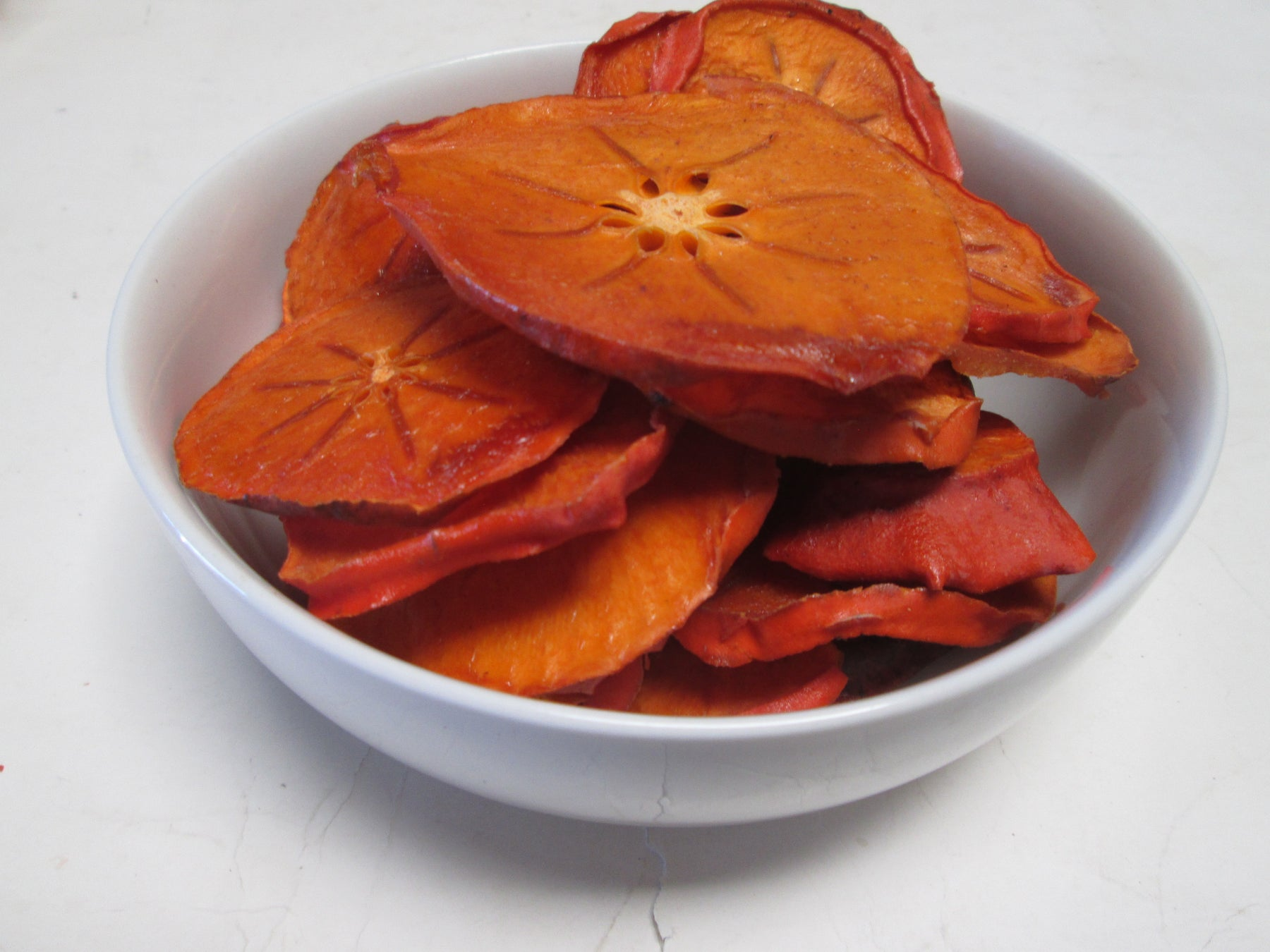 Organic Dried Persimmon Slices, 15 lbs / case
